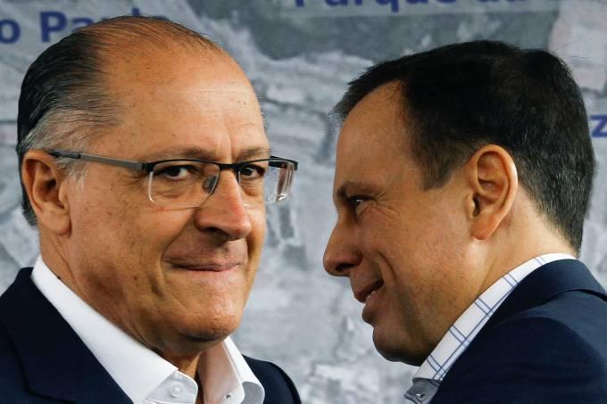 O prefeito João Doria e o governador Geraldo Alckmin – 25/05/2017