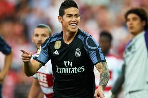 Real Madrid goleia o Granada