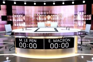 Eleições na França - Debate Marine Le Pen x Emmanuel Macron - 03/05/2017