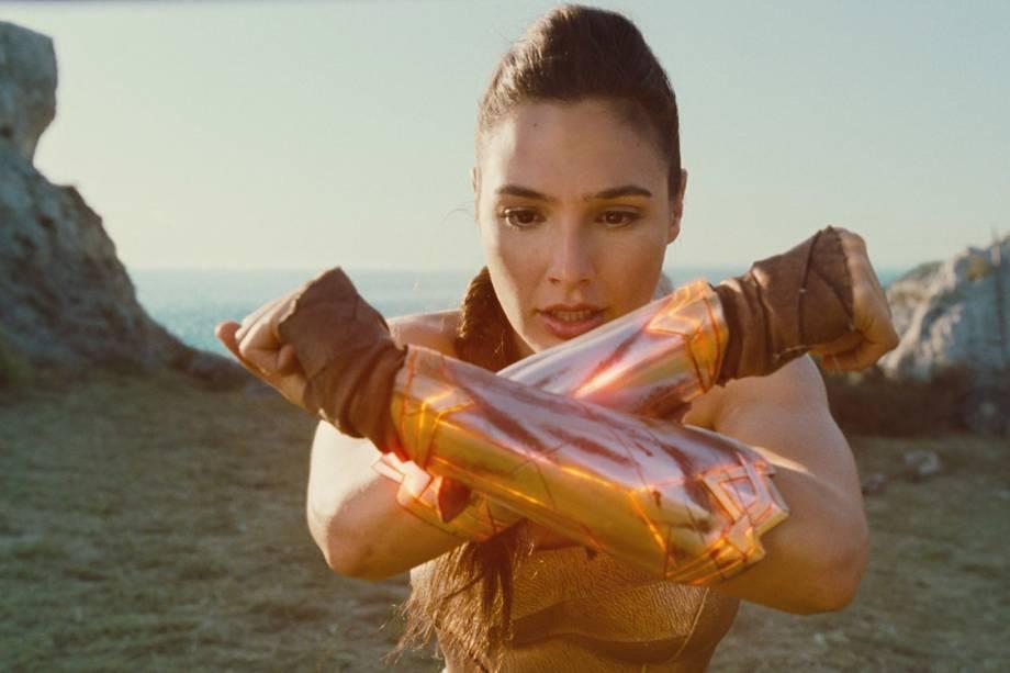 Gal Gadot em cena do filme 'Mulher Maravilha'
