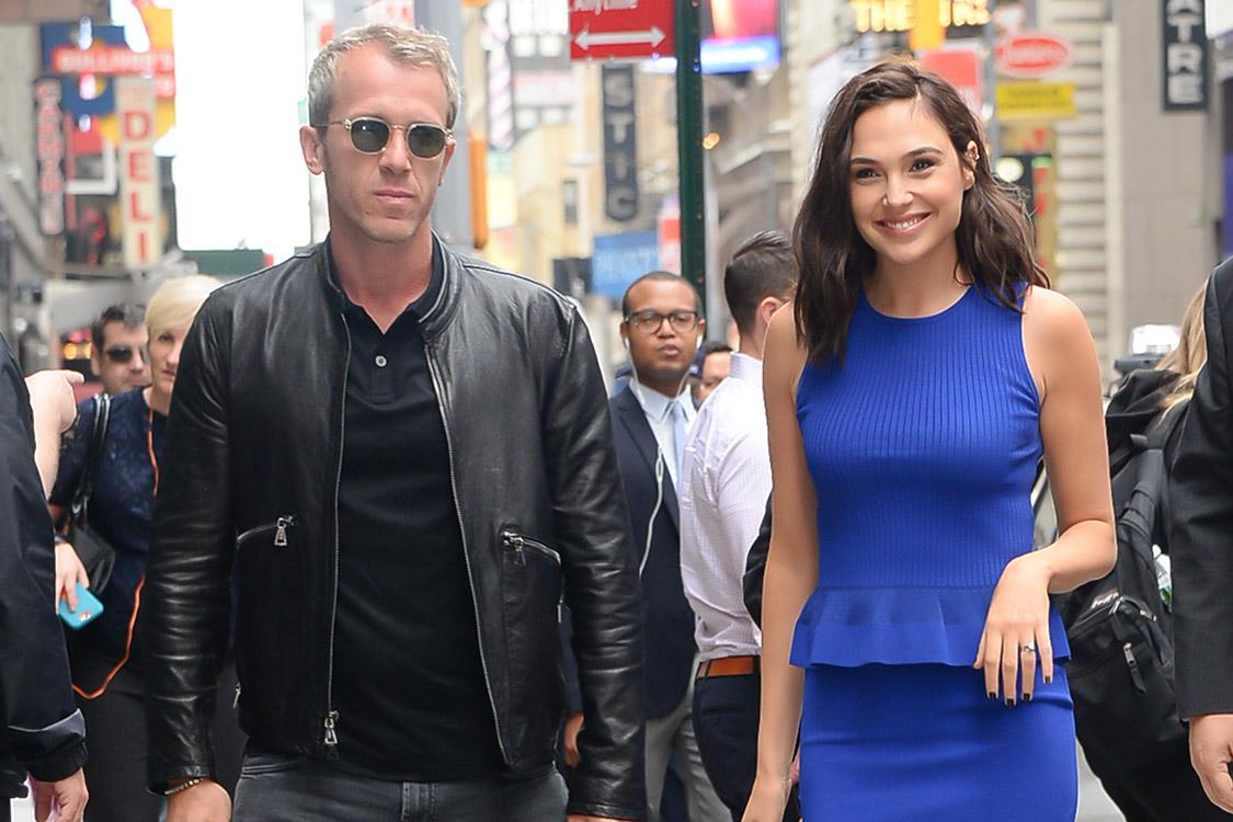 A atriz Gal Gadot e o marido, o empresário israelense Yaron Varsano