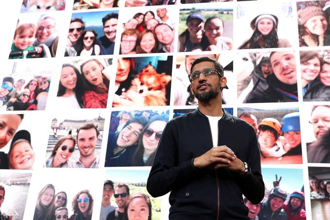 Sundar Pichai, CEO do Google