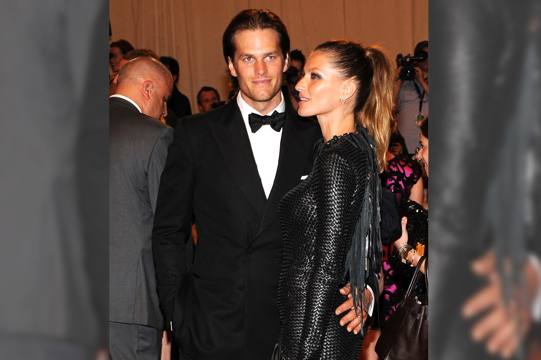 Gisele Bundchen e Tom Brady no MET Gala em Nova York - 03/05/2010