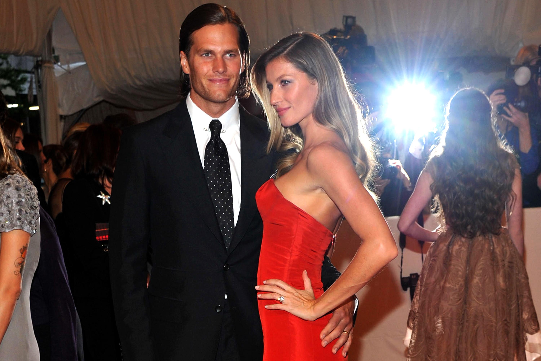 Gisele Bundchen e Tom Brady no MET Gala em Nova York - 02/05/2011