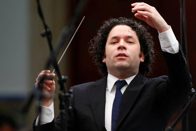 O maestro Gustavo Dudamel