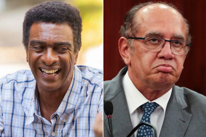 Hélio de la Peña e Gilmar Mendes