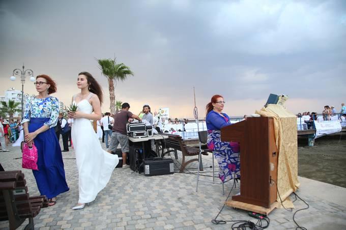 Casamento de israelenses na Ilha de Chipre