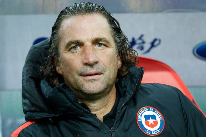 O técnico do Chile, Juan Antonio Pizzi