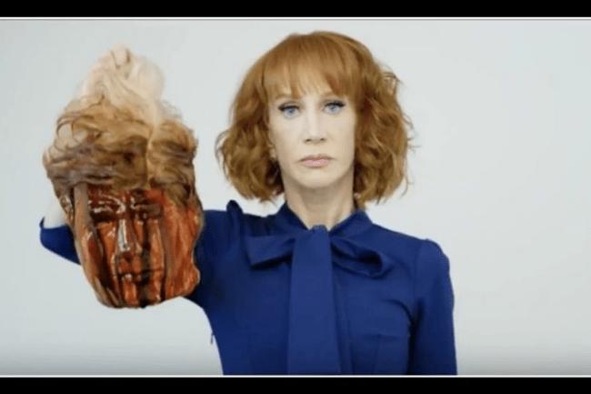 Kathy Griffin posta imagem contra Donald Trump