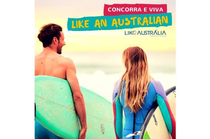 Like an australian