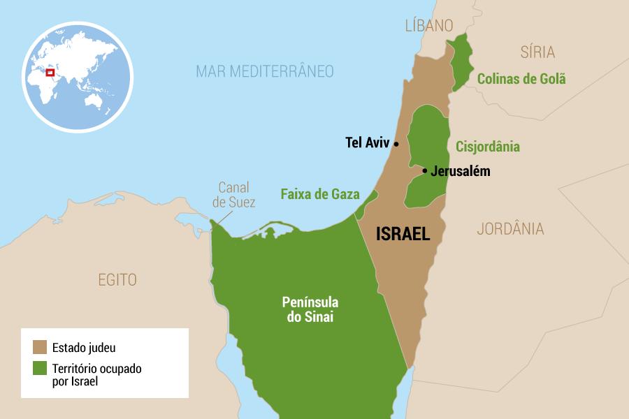 9 de junho de 1967 -Israel conquista as Colinas de Golã