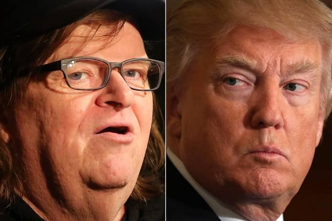 Michael Moore e Donald Trump