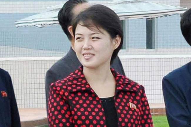 Ri Sol Ju, esposa de Kim Jong Un