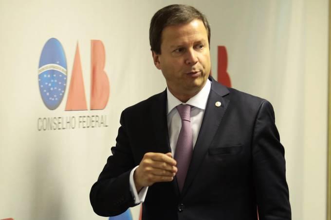 O presidente nacional da Ordem dos Advogados do Brasil (OAB), Claudio Lamachia