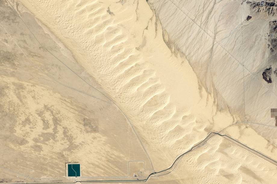 As dunas Algodones na Califórnia, Estados Unidos