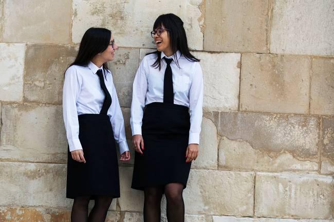 Estudantes da universidade de Coimbra.