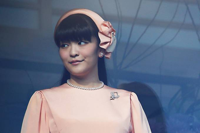 A princesa japonsesa, Kako, em Tóquio