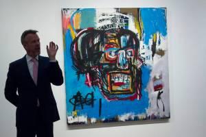 Quadro de Basquiat é vendido por 110 milhões de dólares em leilão