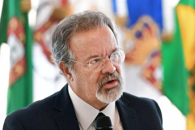 O ministro da Defesa, Raul Jungmann em Brasília (DF) – 17/05/2017
