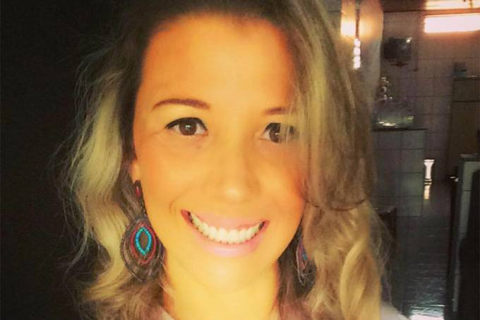 A brasileira Regina Dezani, 39 anos