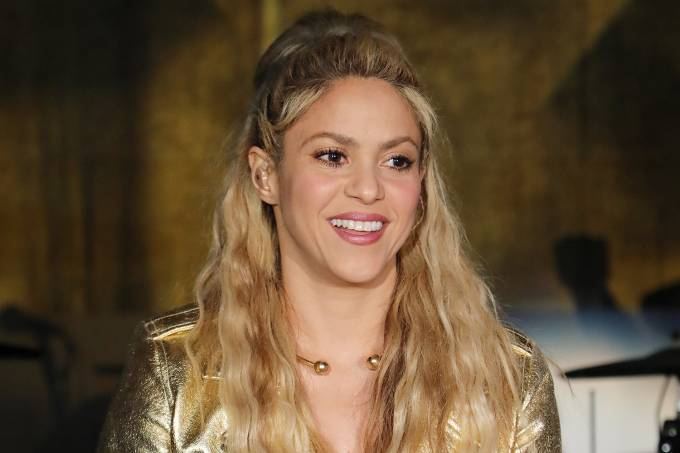 A cantora Shakira 25/03/2017