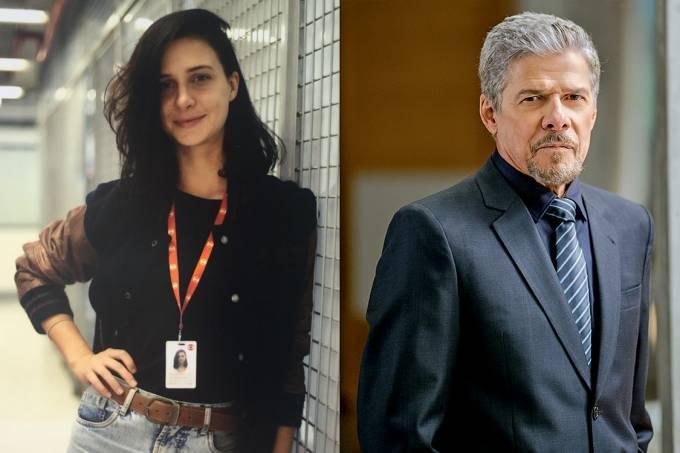 Su Tonani, figurinista da Globo e o ator José Mayer