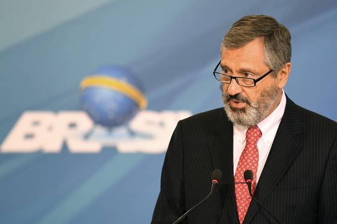 Ministro da Justiça Torquato Jardim