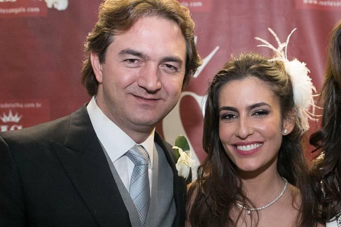 Ticiana Villas Boas e o marido, Joesley Batista