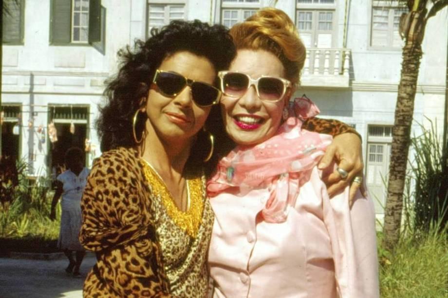 Betty Faria e Rogéria em Tieta