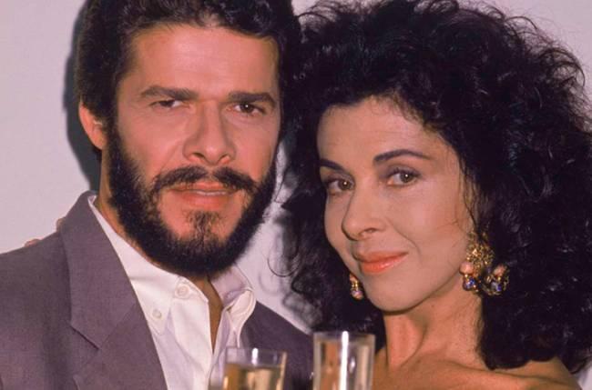 José Mayer e Betty Faria em 'Tieta'