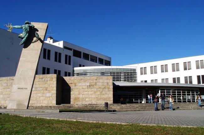 Universidade do Minho, em Braga, Portugal