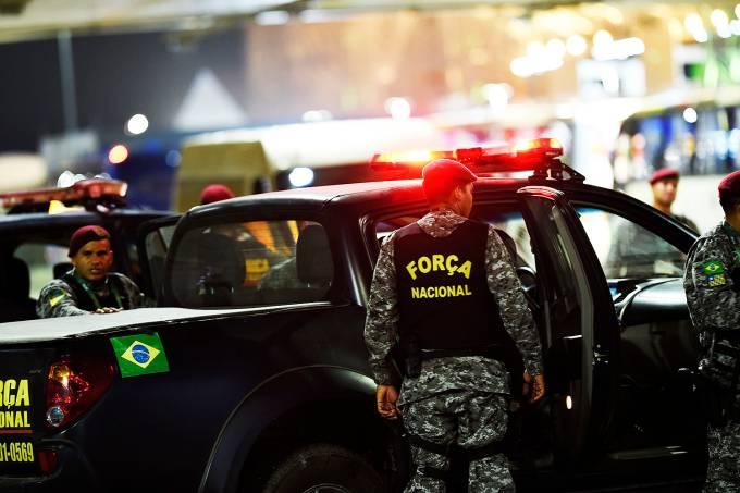 A Força Nacional de Segurança no Rio de Janeiro