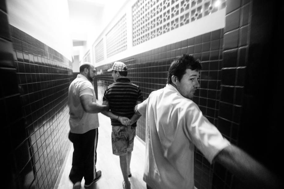 ALGEMAS - Seis pacientes, em média, chegam ao Bairral compulsoriamente. São psicóticos gravíssimos