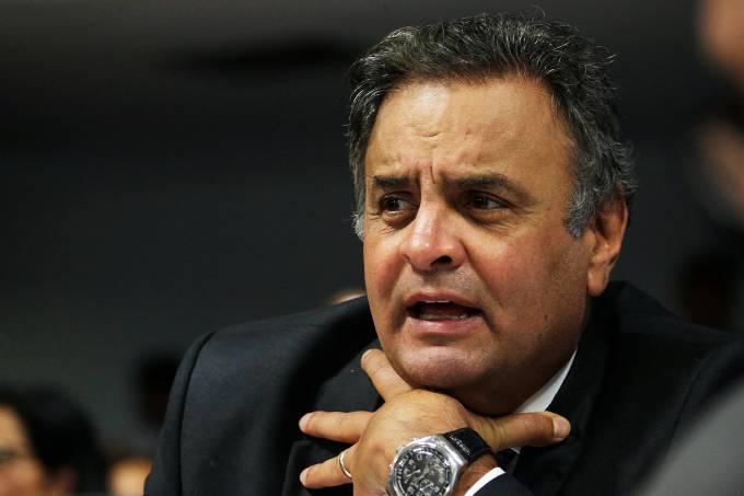 O senador Aécio Neves (PSDB-MG) – 29/03/2017