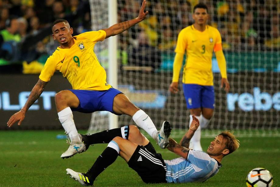 Amistoso entre Brasil e Argentina - 09/06/2017