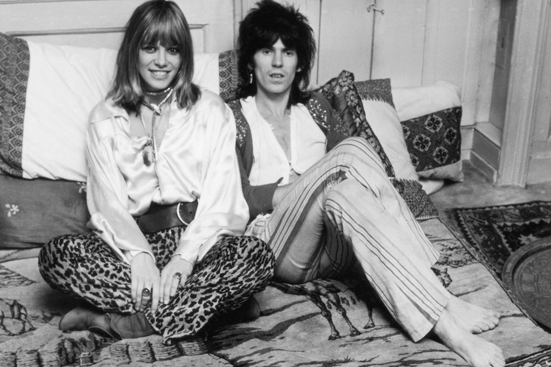 Keith Richards e Anita Pallenberg