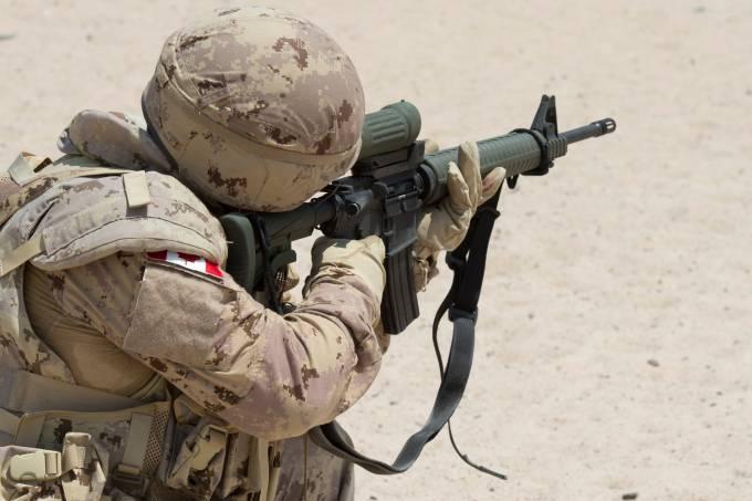 Atirador canadense no Iraque