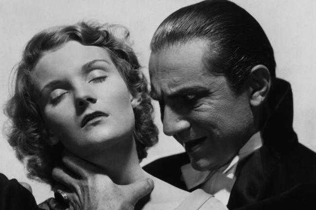 Bela Lugosi e Helen Chandler em 'Drácula' (1931)