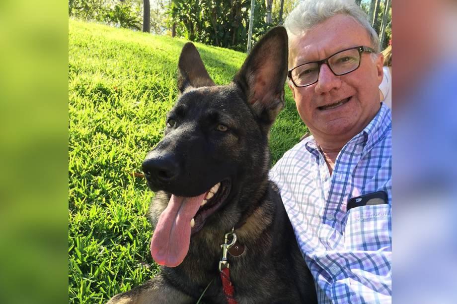 Gavel, pastor alemão do governador de Queesland, na Austrália, foi expulso do corpo da polícia por ser muito dócil
