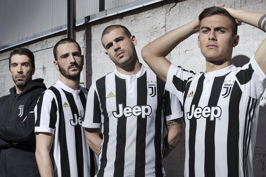 Juventus anuncia nova camisa com campanha de Gianluigi Buffon, Leonardo Bonucci, Stefano Sturaro e Paulo Dybala