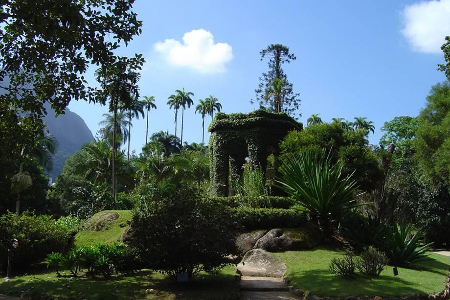 Cômoro Frei Leandro, no Jardim Botânico.