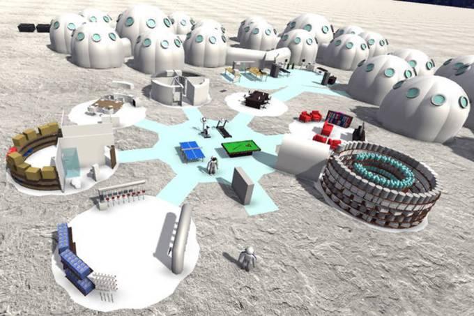 Alunos de engenharia ajudam NASA com projeto de colonização