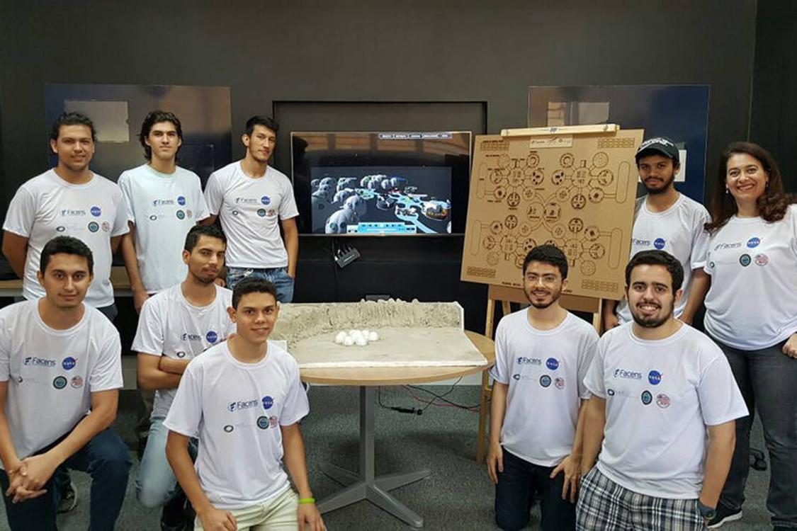 Alunos da Faculdade de Engenharia de Sorocaba ajudam a Nasa com projeto de colonização humana na Lua