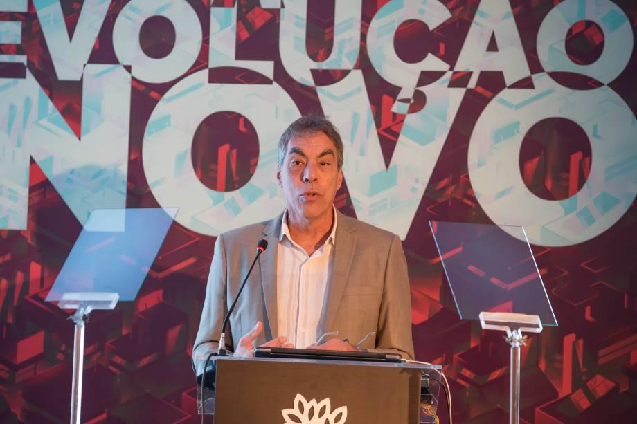 Demétrio Magnoli, professor da USP, durante palestra no Fórum A Revolução do Novo: A Transformação do Mundo