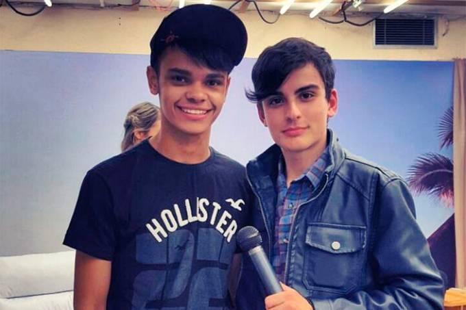 Dudu Camargo e ex-namorado, Robert Oliveira