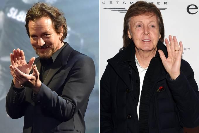 Eddie Vedder e Paul McCartney