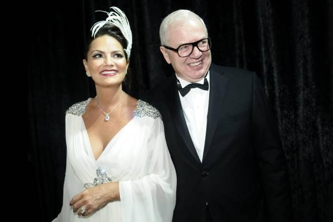 Luiza Brunet e Lírio Parisotto