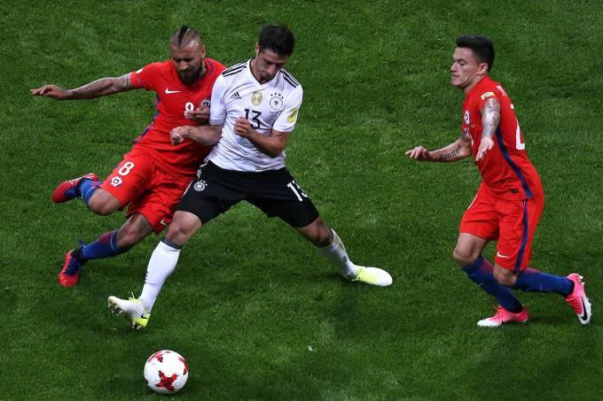 Copa das Confederações: Chile x Alemanha