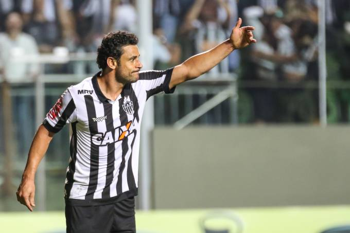 Fred marca o segundo do Atlético-MG na vitória sobre o Paraná