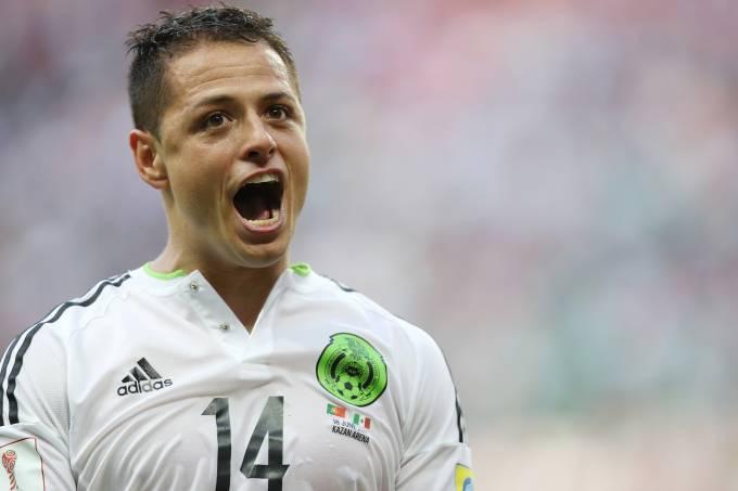 Chicharito Hernández do México estará em campo para a semifinal da Copa das Confederações. Veja como assistir.